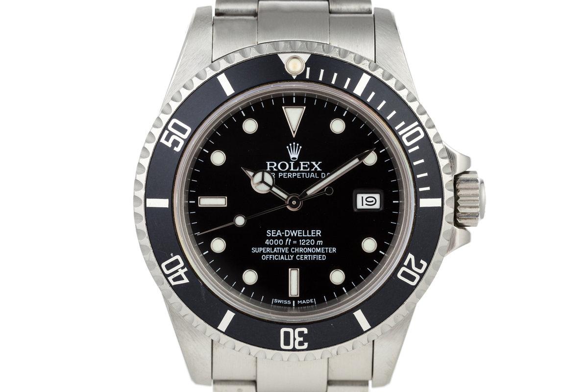 1985 Rolex Sea Dweller 16660 photo, #0
