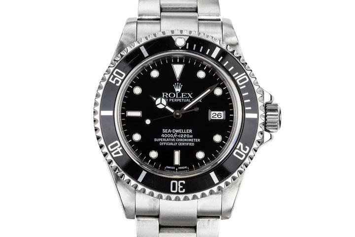 1999 Rolex Sea-Dweller 16600 photo
