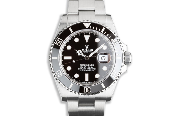 2021 41mm Rolex Submariner 126610LN with Box & Card photo