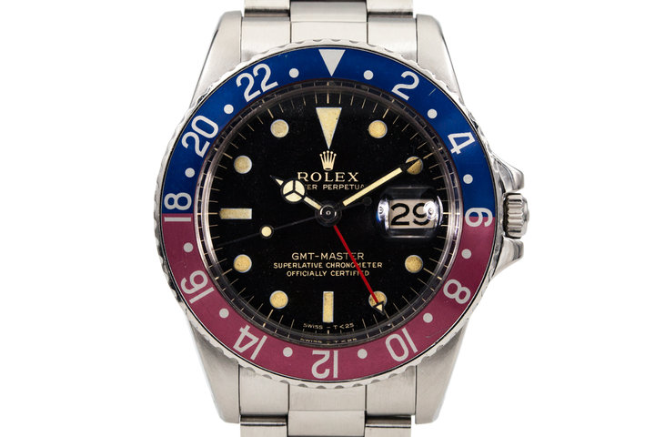 1965 Rolex GMT 1675 Black Gilt Dial photo