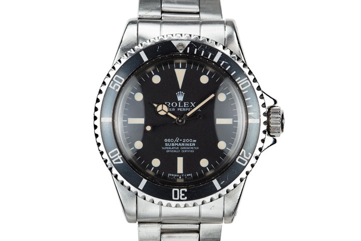 1970 Rolex Submariner 5512 Serif Dial photo