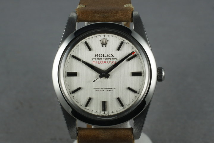 1970 Rolex Milgauss 1019 with Non Luminous Dial photo