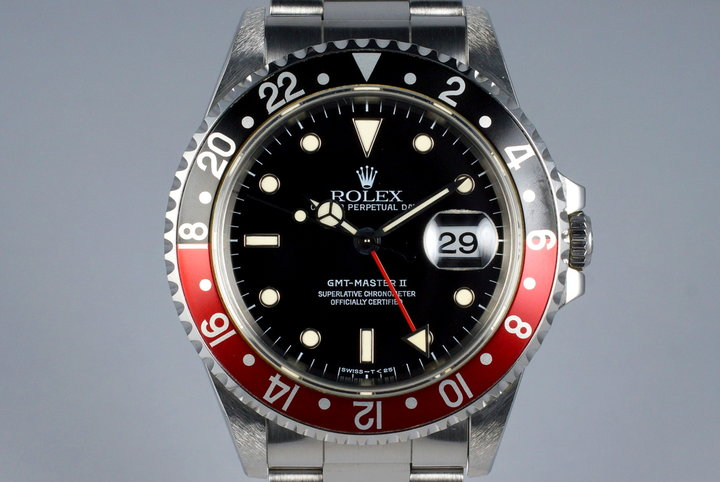 1995 Rolex GMT II 16710 with Box and Papers photo