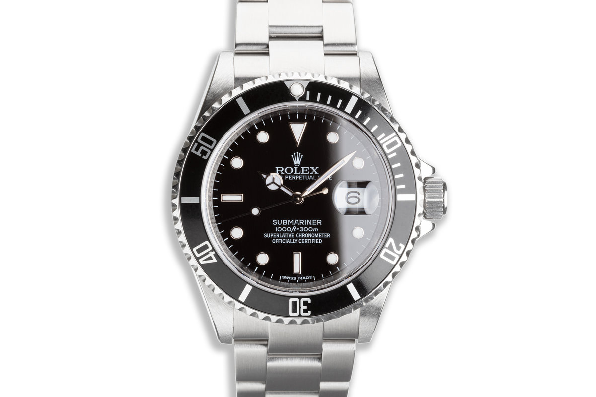 2009 Rolex Submariner 16610 with Box & Card photo, #0