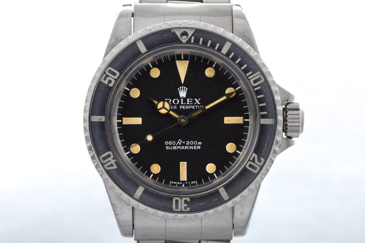 Vintage 1972 Rolex Submariner 5513 Serif Dial with Box and Papers photo