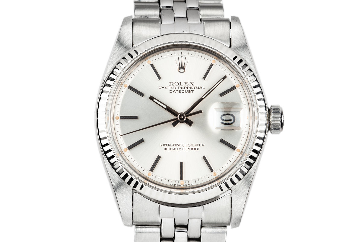 Rolex DateJust 1601 Silver Sigma Dial photo, #0
