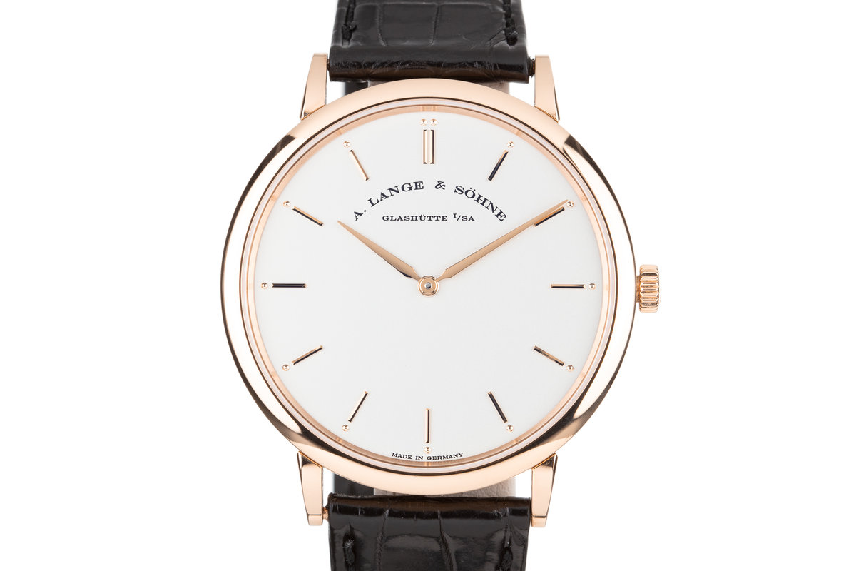 2016 A. Lang & Söhne 18K Rose Gold Saxonia Thin 211.032 with Box and Papers photo, #0