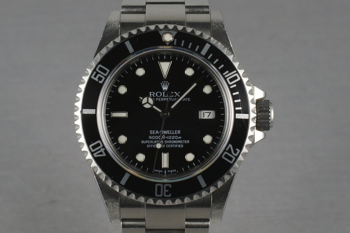 2006 Rolex Sea Dweller 16600 with   Box and Guarantee Papers photo