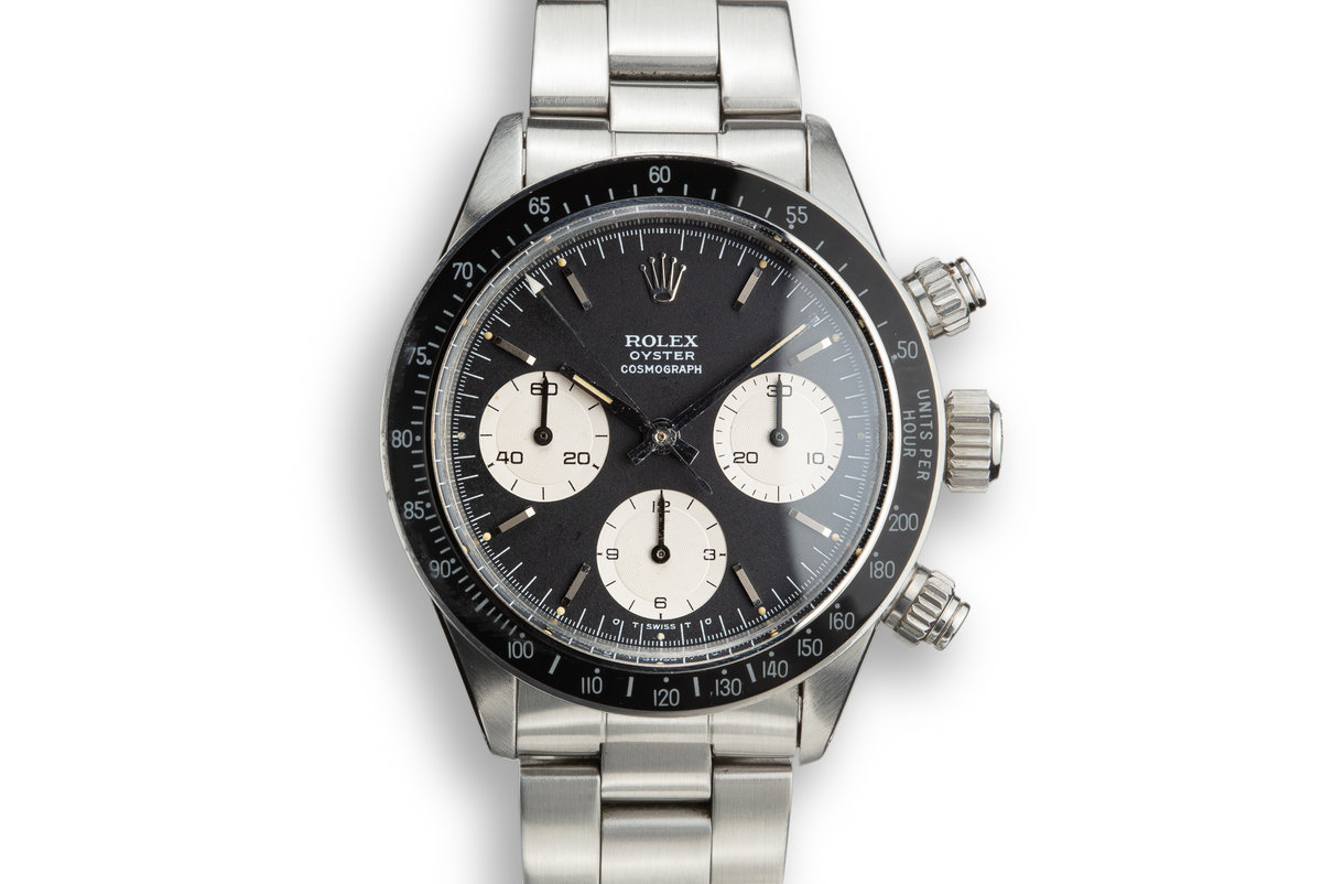 1973 Rolex Daytona 6263 with Black Sigma Dial photo, #0