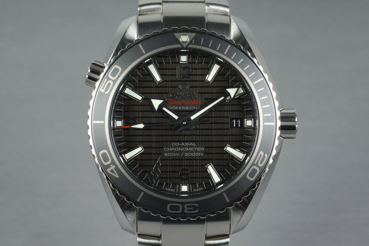 2012 Omega Seamaster Planet Ocean Lim. Ed. James Bond SkyFall 232.30.42.21.01.004 w/ Box and Papers photo