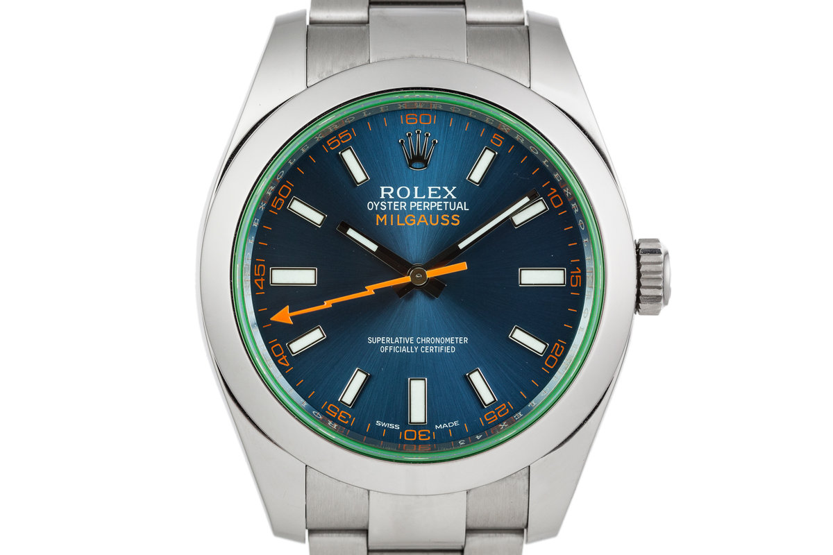 2014 Rolex Milgauss 116400GV with Box and Papers photo, #0