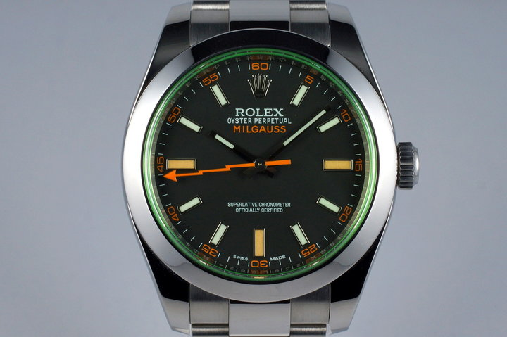 2015 Rolex Milgauss 116400V photo