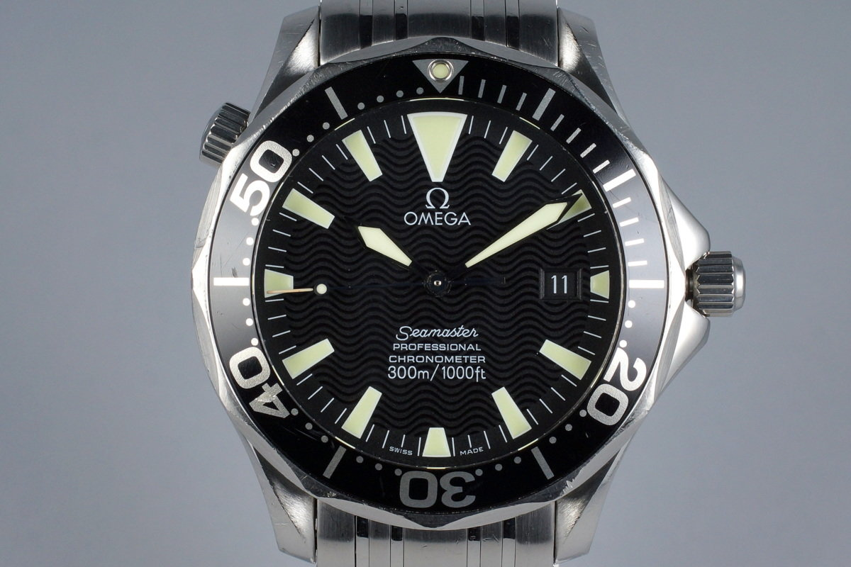 2002 Omega Seamaster 2054.50 with Papers photo, #0