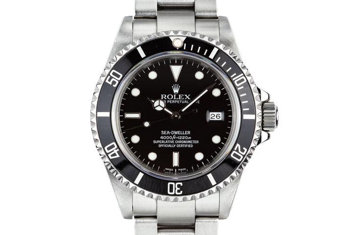 1991 Rolex Sea-Dweller 16600 photo