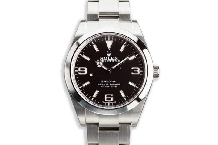 2017 Rolex 39mm Explorer MkII 214270 with Box and Card photo