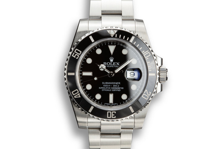 2011 Rolex Submariner 116610LN with Box and Papers photo