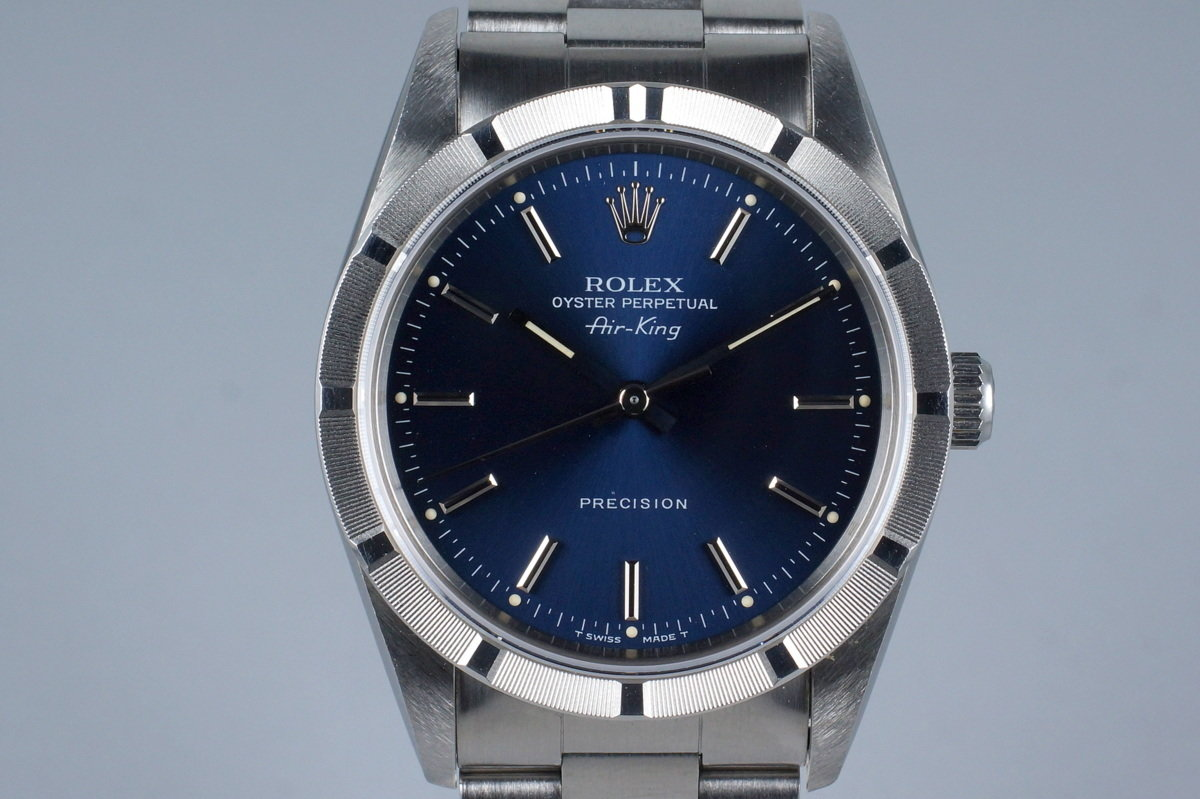 1994 Rolex Air-King 14010 with Box and Papers photo, #0