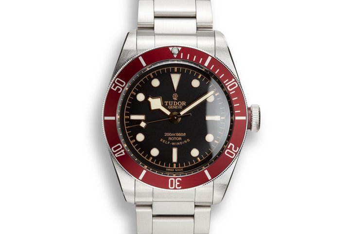 2016 Tudor Black Bay 79220 Red Bezel with Box and papers photo