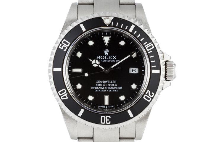 2002 Rolex Sea Dweller 16600 photo