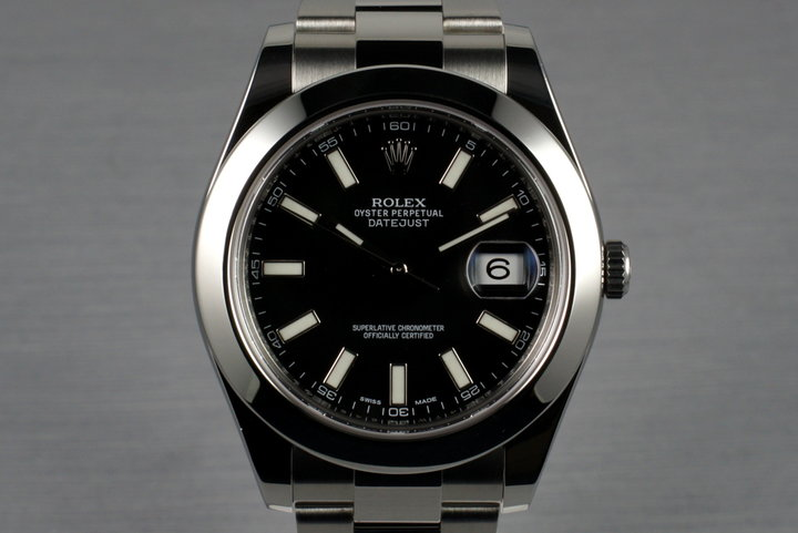 2013 Rolex DateJust 116300 with Box and Papers photo