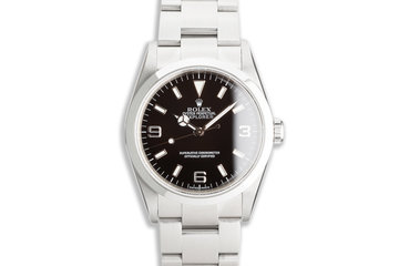 2006 Rolex Explorer 114270 with Papers photo