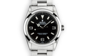 1998 Rolex Explorer 114270 with SWISS Only Dial photo
