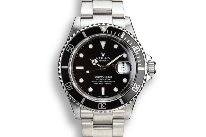2003 Rolex Submariner 16610T photo