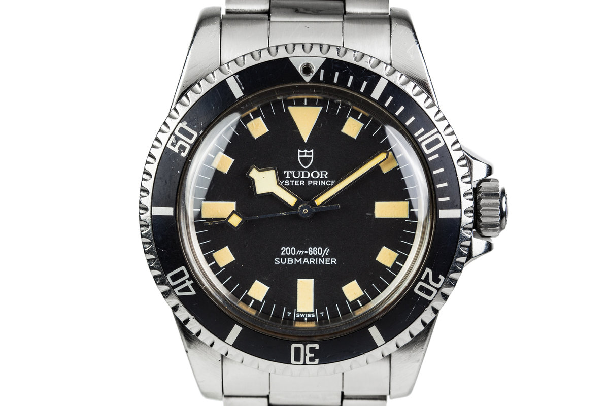 1984 Tudor Submariner 94010 Black Snowflake Dial photo, #0