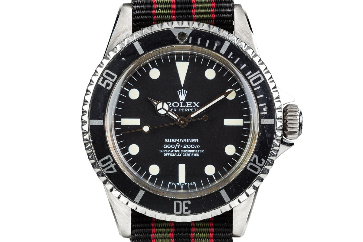 1961 Rolex Submariner 5512 with Pointed Crown Gaurds and Service Dial photo, #0