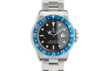 "1972 Rolex GMT-Master 1675 ""Blueberry"" photo"