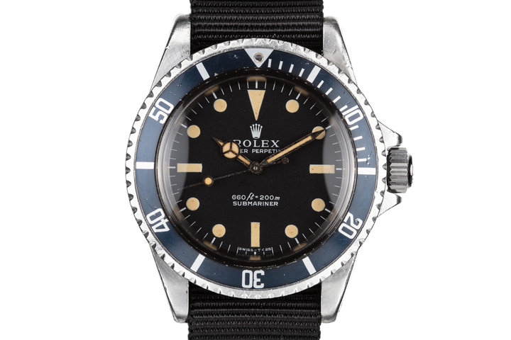 1970 Rolex Submariner 5513 photo