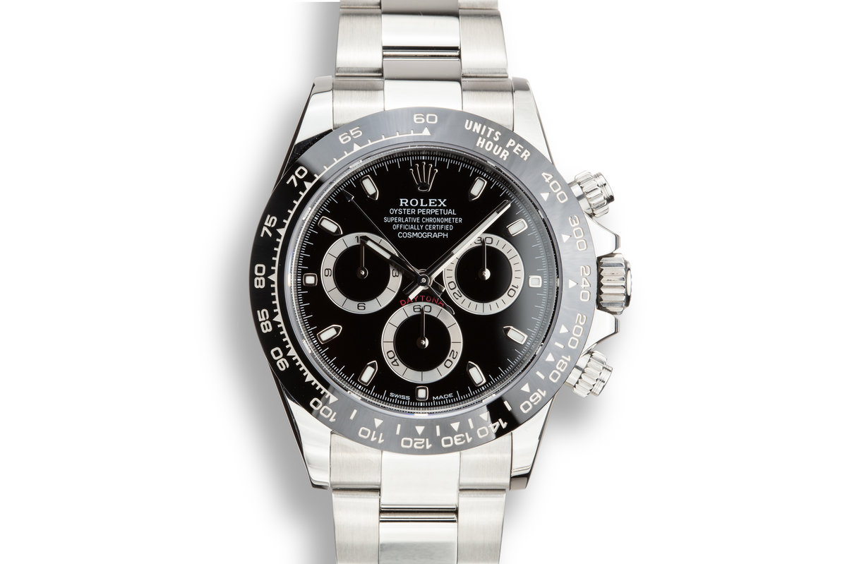 2018 Rolex Daytona 116500LN Black Dial with Box and Papers photo, #0