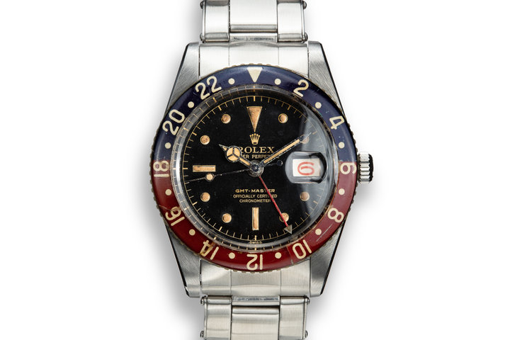 1958 Rolex GMT-Master 6542 Gilt Dial photo