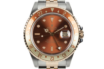 1991 Rolex Two Tone GMT-Master II 16713 photo
