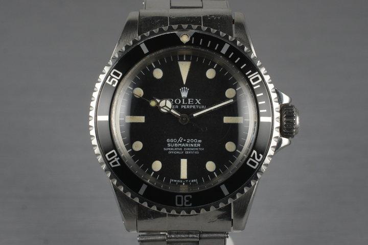 1970 Rolex Submariner 5512 photo