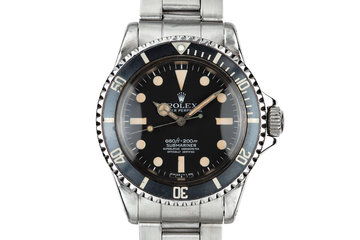 1964 Rolex Submariner 5512 with Newer Mark 1 Maxi 5512 Dial photo