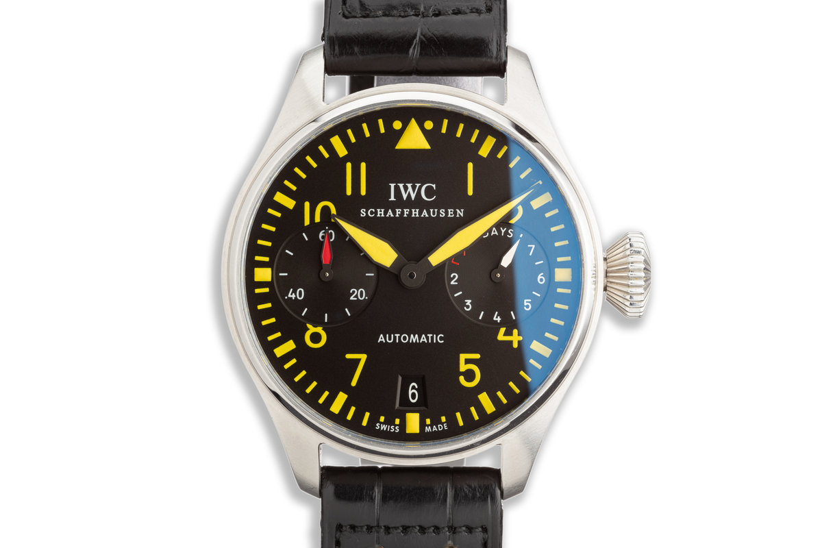 2008 IWC Pilot Chronograph Limited Model IW500412 Limited Edition of 15pcs photo, #0