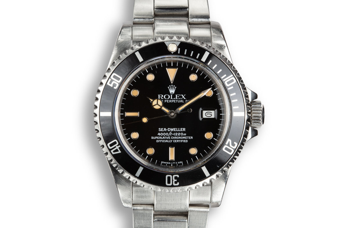 1984 Rolex Sea-Dweller 16660 Glossy Dial photo, #0