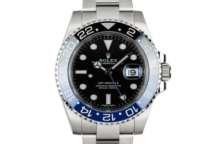 2017 Rolex GMT-Master II 116710BLNR with Box and Papers photo