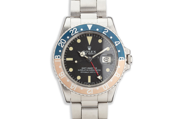 1970 Vintage Rolex GMT-Master 1675 with Fat Font Insert photo