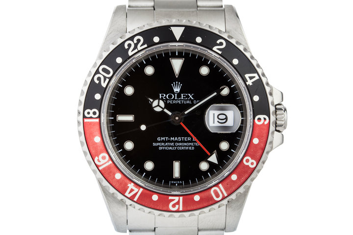 1999 Rolex GMT II 16710 with Swiss Only Dial photo