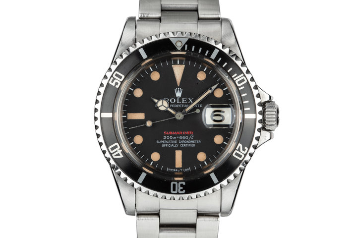 1969 Rolex Red Submariner 1680 with MK II Meters First Dial photo