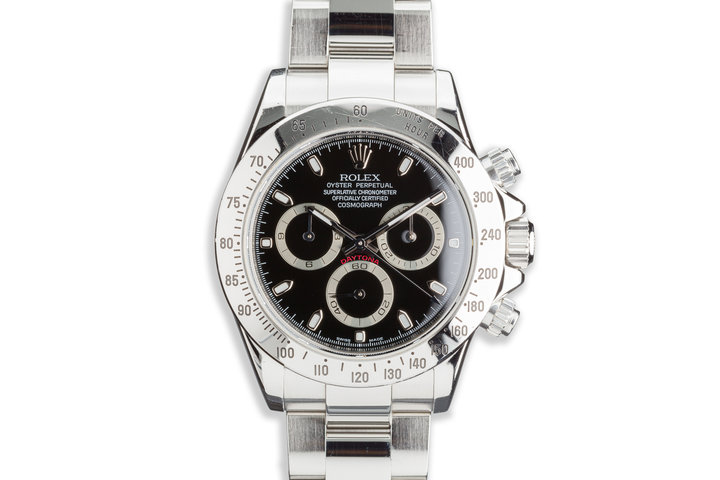 2006 Rolex Daytona 116520 Black Dial photo