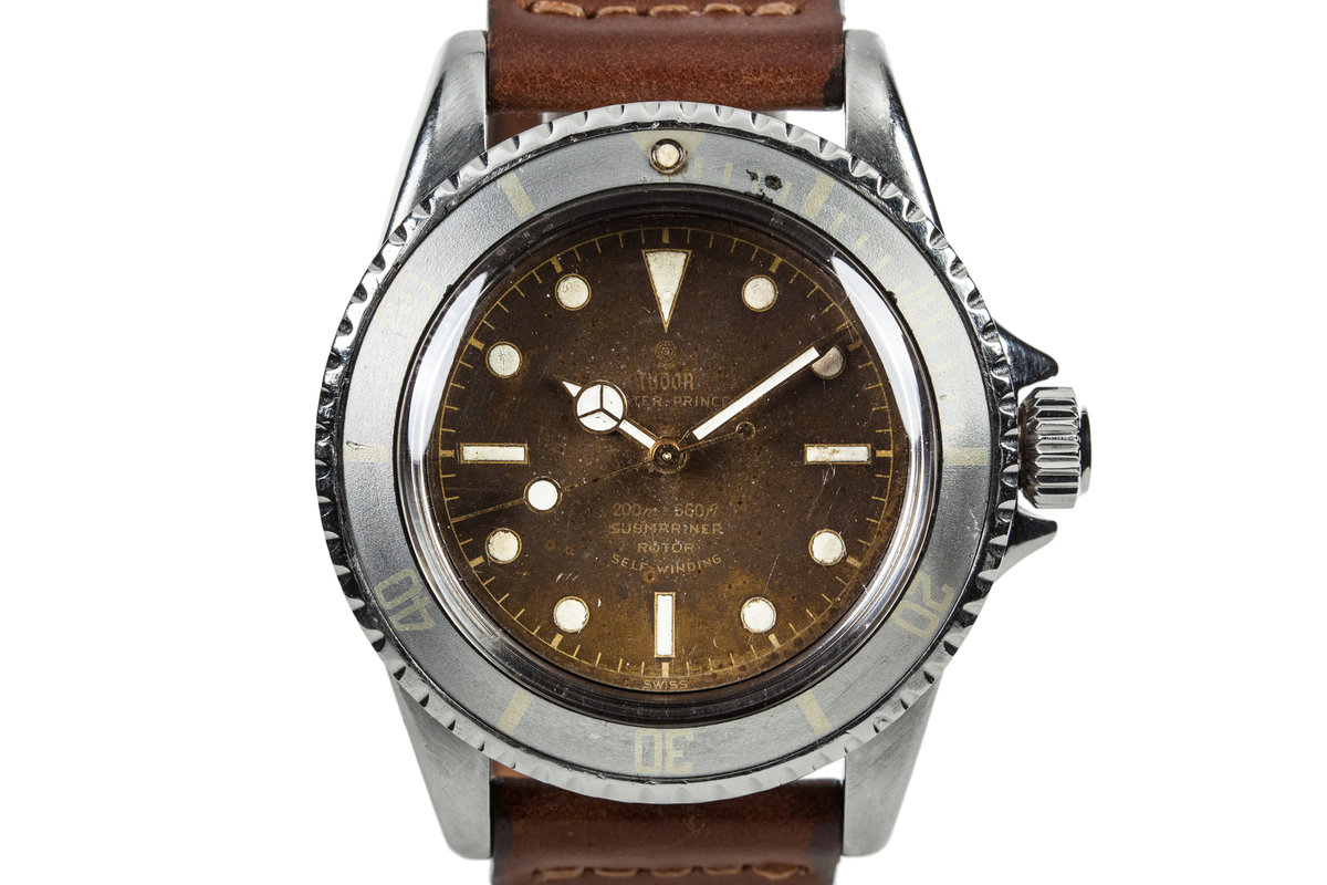 1961 Tudor Submariner 7928 Tropical Dial photo, #0