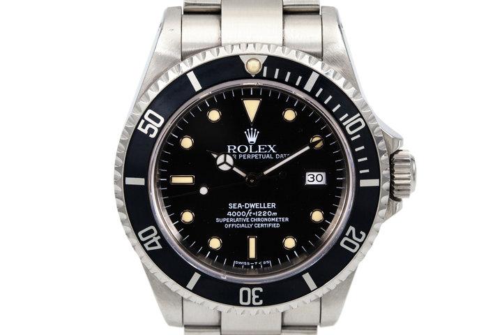 1991 Rolex Sea Dweller 16600 photo