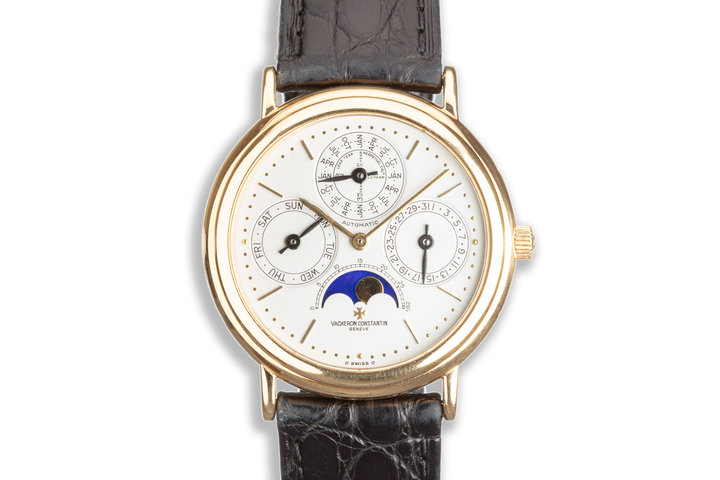 Vacheron & Constantin Perpetual Calendar Moon Phase 4303113 with Box and Papers photo