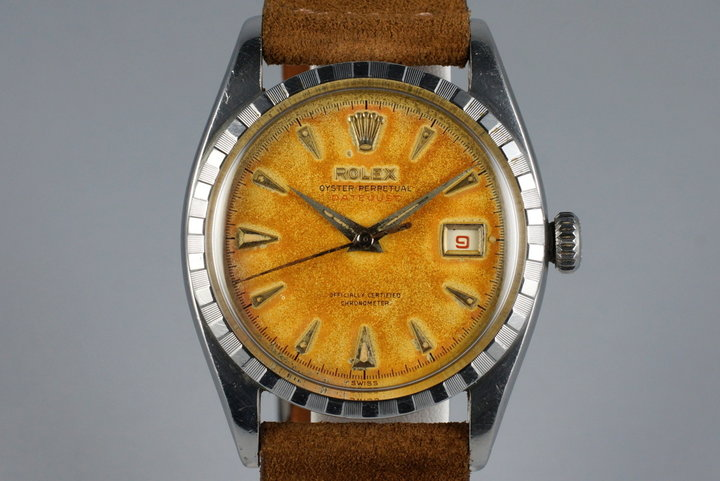 1953 Rolex Datejust 6305 2 with Tropical Dial photo