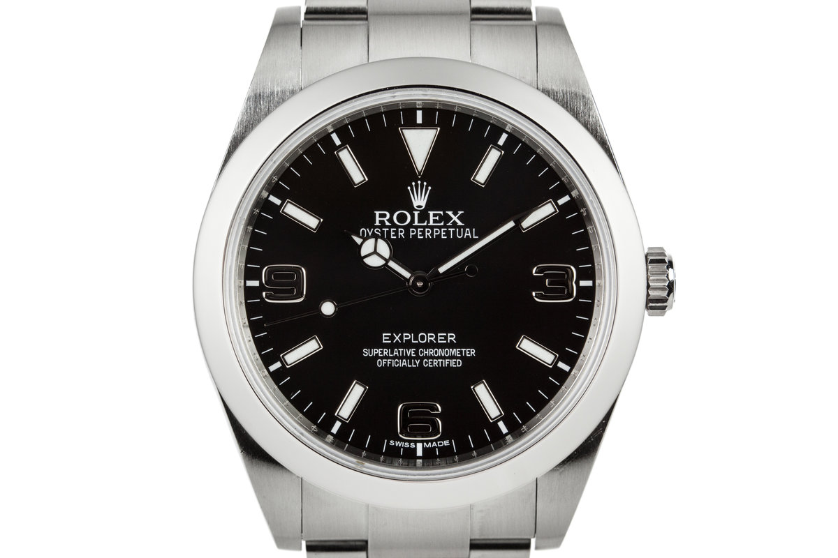 2010 Rolex 39mm Explorer 214270 with Hang Tags photo, #0
