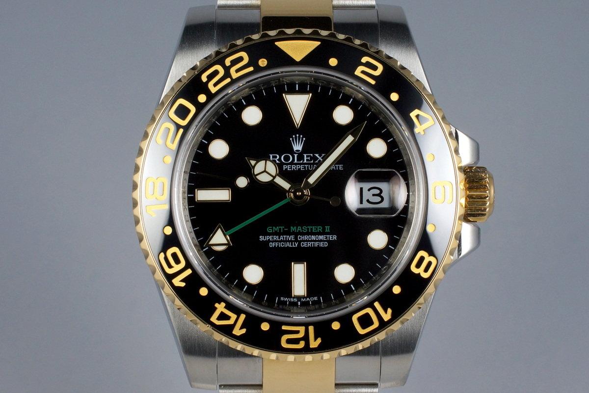 2007 Rolex Two Tone GMT II 116713 photo, #0