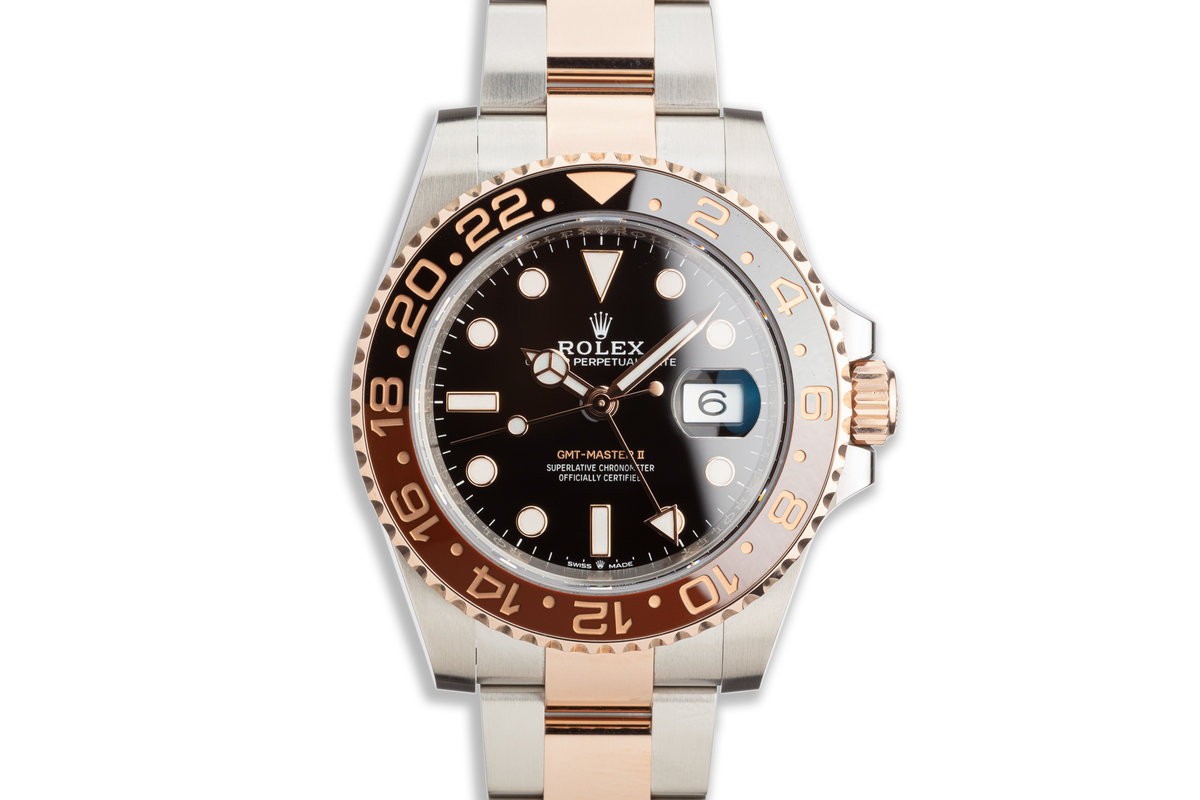 """2019 Rolex EVEROSE GMT-Master II 126711CHNR """"Root Beer"""" with Box and Card photo, #0"""